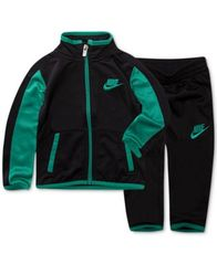 Image of Nike 2-Pc. Track Suit Jacket & Pants Set, Little Boys