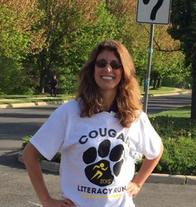 Local Allstate insurance agent volunteering at Cougar Run Elementary School in Manassas Park, VA