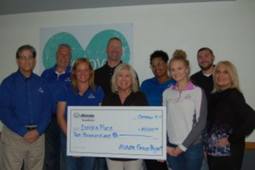 Stan Martz - Isaiah's Place Receives Allstate Foundation Helping Hands Grant