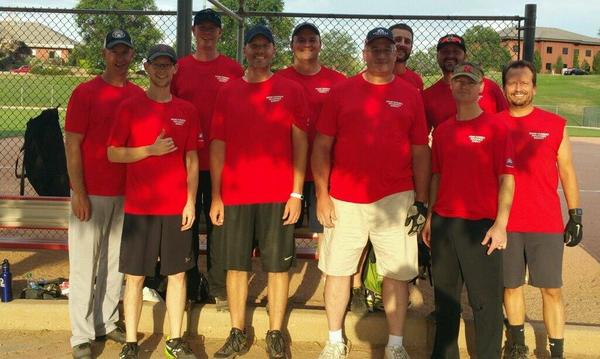 Wiebe Farmers Insurance® summer softball team--great group of guys!
