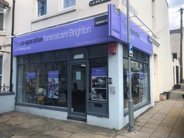 The Co-operative Funeralcare with Caring Lady Brighton