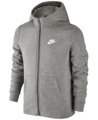 Image of Nike Boys' Full-zip Club Hoodie