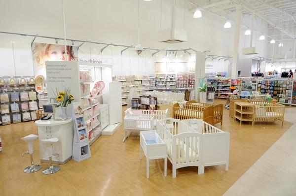 Mothercare Croydon nursery furniture and bedding