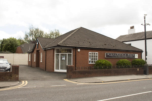 Middleton & Wood Funeral Directors in Hindley, Wigan.