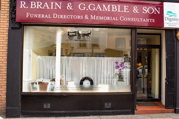 R Brain & G Gamble & Son Funeral Directors in Fulham Broadway