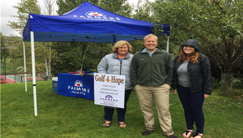 Golf for Hope benefiting The Hope Alliance.  Scott Taylor Agency @ Jeremy Ranch