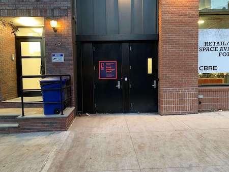 N 7th storage facility entrance