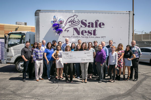 Adam Brown - Allstate Foundation Helping Hands Grant Safe Nest