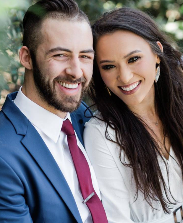 headshot of newly weds