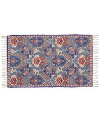 "Image of Nourison Persiana 01 Blue 27"" x 45"" Accent Rug"