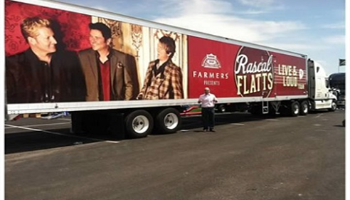 Farmers® sponsored the Rascal Flats Tour at Cheyenne Frontier Days, July 2013.