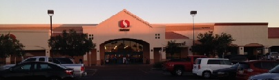 Safeway Store Front Picture at 10641 W Olive Ave in Peoria AZ