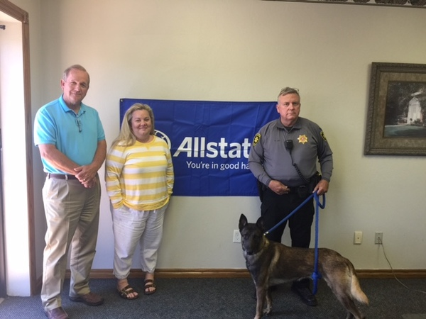 Bob A. Bynum - Allstate Foundation Grant for Grady County Sheriff's Office