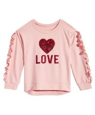 Image of Beautees Big Girls Love Graphic Shirt