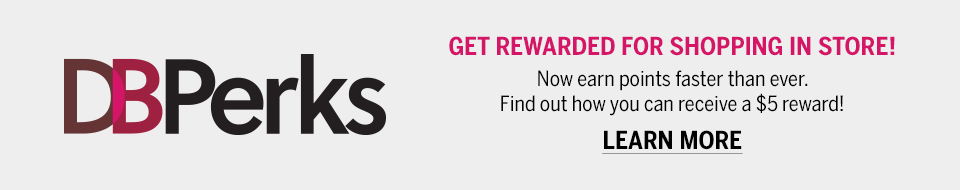 DBPerks - Get Rewarded For Shopping In Store! Find out how you can receive a $5 reward.