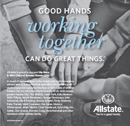 Chad VanderPol - Allstate is proud to support the Boys & Girls Clubs of Greater Kansas City!