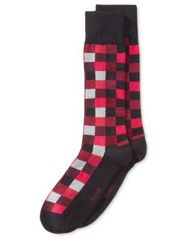 Image of Alfani Men's Box-Texture Socks, Created for Macy's