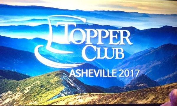 Topper Club 2017 in Asheville, NC