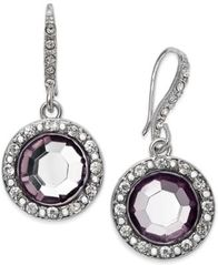 Image of INC International Concepts Round Stone Drop Earrings, Created for Macy's