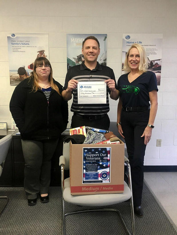 Matt Elwood - Allstate Foundation Grant for USO Northwest