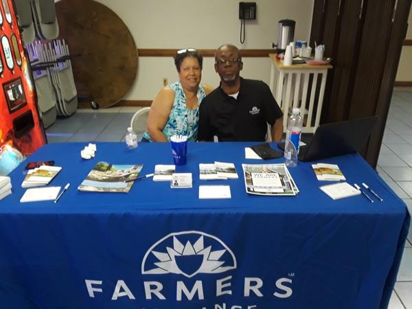 """Life Matters"" for everyone. taking time to spread the word at Antioch MB Church Health Fair."
