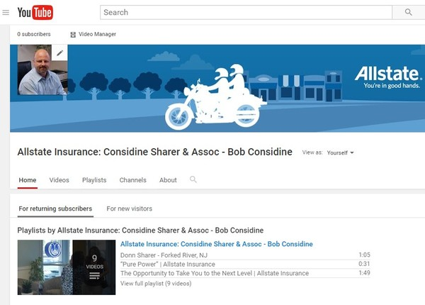Considine Sharer & Assoc - Bob Considine - Check us out on YouTube!