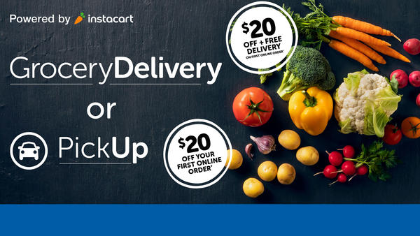 Grocery Delivery or Pickup!
