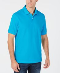 Image of Club Room Men's Classic Fit Performance UPF Polo, Created for Macy's