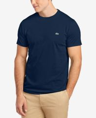 Image of Lacoste Men's Crew-Neck Pima Cotton T-Shirt