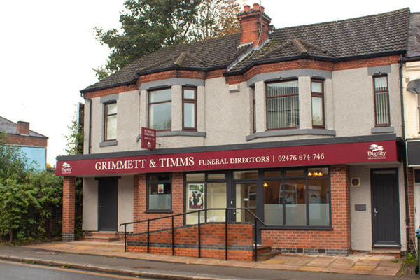 Grimmett & Timms Funeral Directors in Earlsdon, Coventry