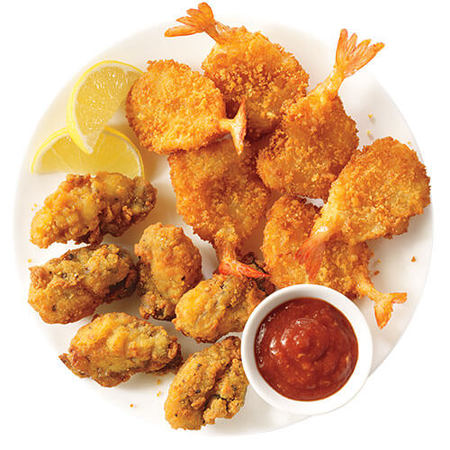 Image of Fried Oysters & Butterfly Shrimp