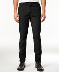 Image of American Rag Men's Slim Fit Twill Pants, Created for Macy's
