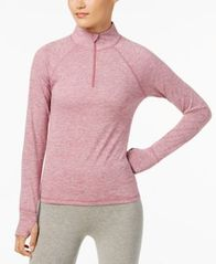 Image of Ideology Rapidry Half-Zip Performance Pullover, Created for Macy's