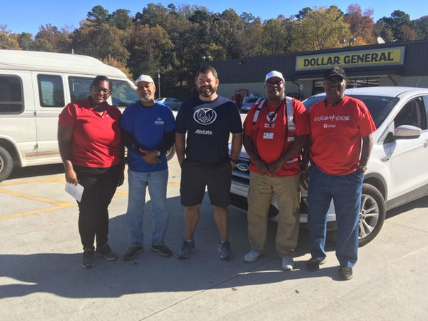 Eric Stuman - Allstate Foundation Grant for Alabama American Red Cross
