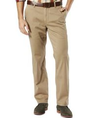 Image of Dockers® Men's Stretch Straight Fit Washed Khaki Pants D2
