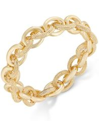 Image of Charter Club Gold-Tone Large Link Bracelet, Created for Macy's