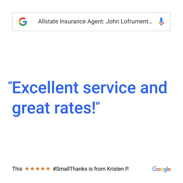 John Lofrumento - Small Thanks with Google