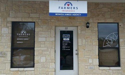 Exterior of the Farmers Agency office