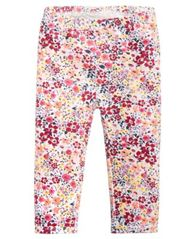 Image of First Impressions Baby Girls Ditsy Floral-Print Leggings, Created for Macy's