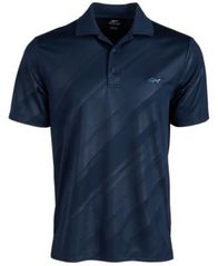Image of Attack Life by Greg Norman Men's Embossed Logo Polo