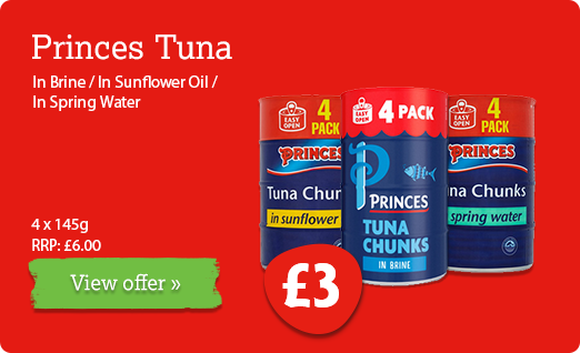 Princes Tuna offer available until 21st January