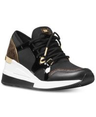 Image of MICHAEL Michael Kors Liv Trainer Sneakers
