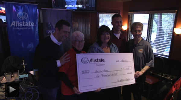 AP Agency - Allstate Foundation Helping Hands Grant for Open Arms Mission