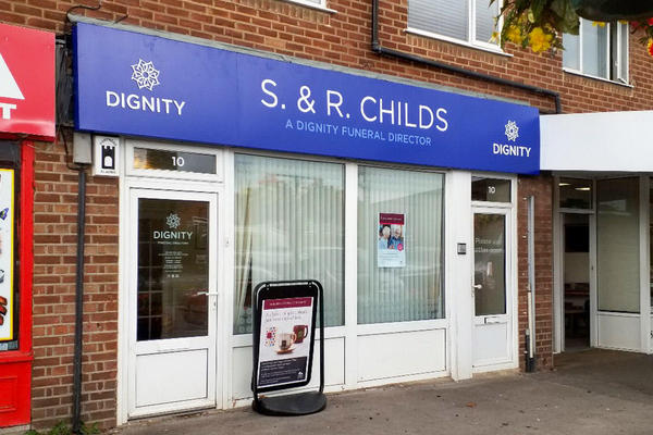 S. & R. Childs Funeral Directors in Kidlington, Oxfordshire.