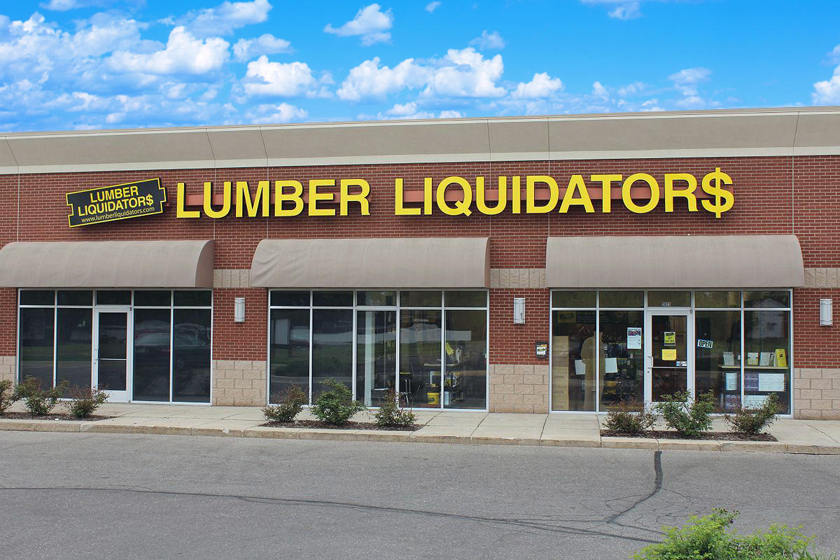 Lumber Liquidators Flooring #1113 West Los Angeles Store Front | 11612 W. Olympic Blvd.