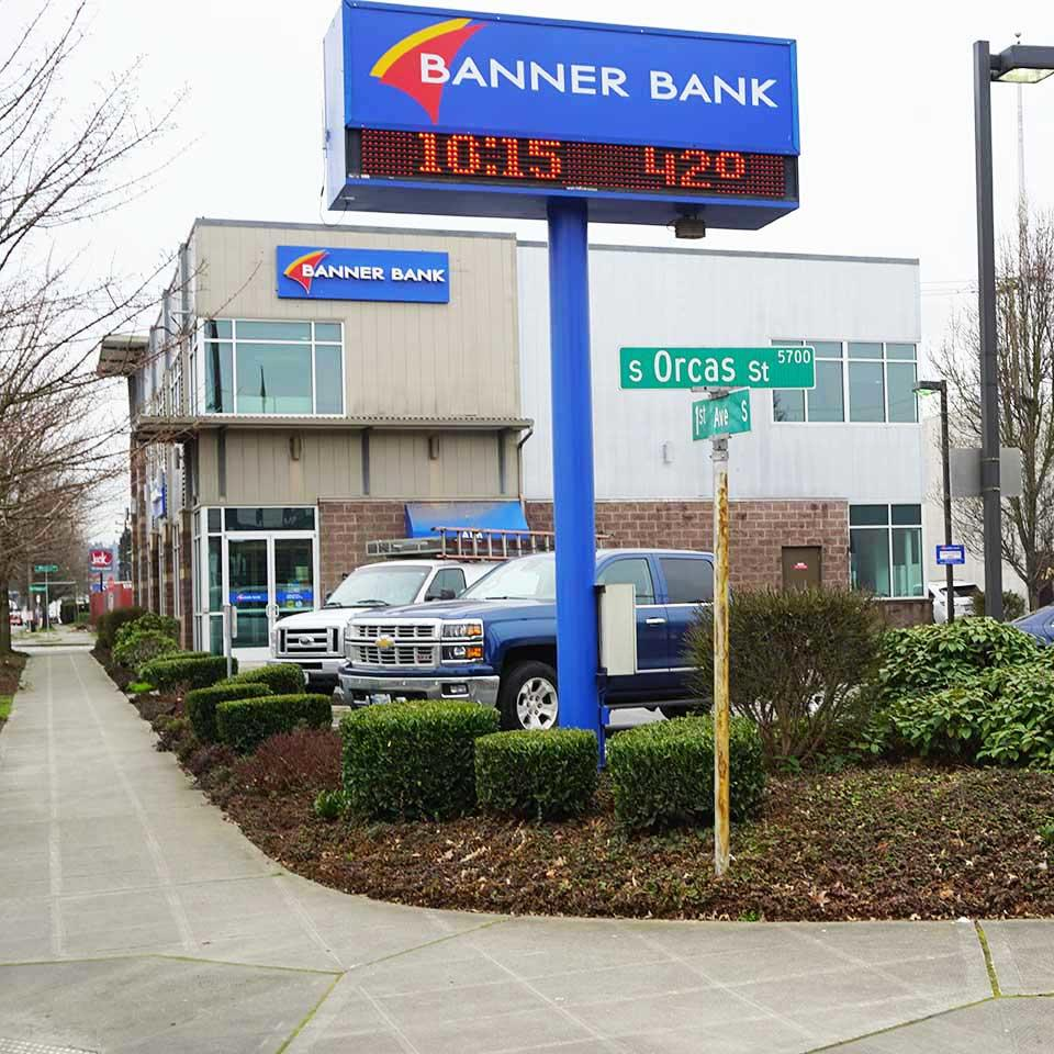 Banner Bank branch in South Seattle, Washington