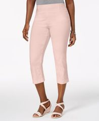 Image of JM Collection Embellished Pull-On Capri Pants, Created for Macy's