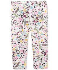 Image of First Impressions Floral-Print Leggings, Baby Girls (0-24 months), Created for Macy's