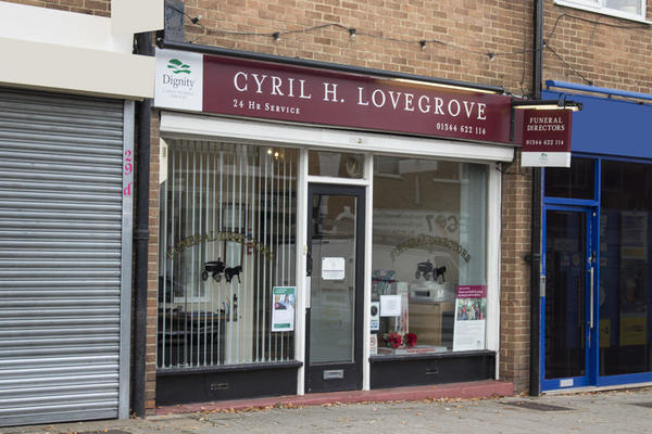 Cyril H Lovegrove Funeral Directors in Sunninghill
