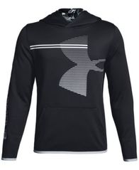 Image of Under Armour Big Boys Armour Fleece Logo-Print Hoodie